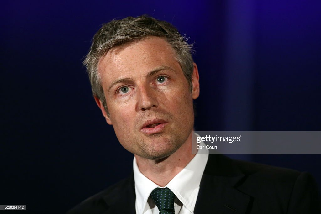 Conservative Party mayoral candidate Zac Goldsmith makes a speech after Labour mayoral candidate Sadiq Khan was announced as London mayor following local elections, on May 07, 2016 in London, England. After months of campaigning Mr Khan won the London mayoral race with 56.8 percent of the vote beating Conservative Party candidate Zac Goldsmith into second place.