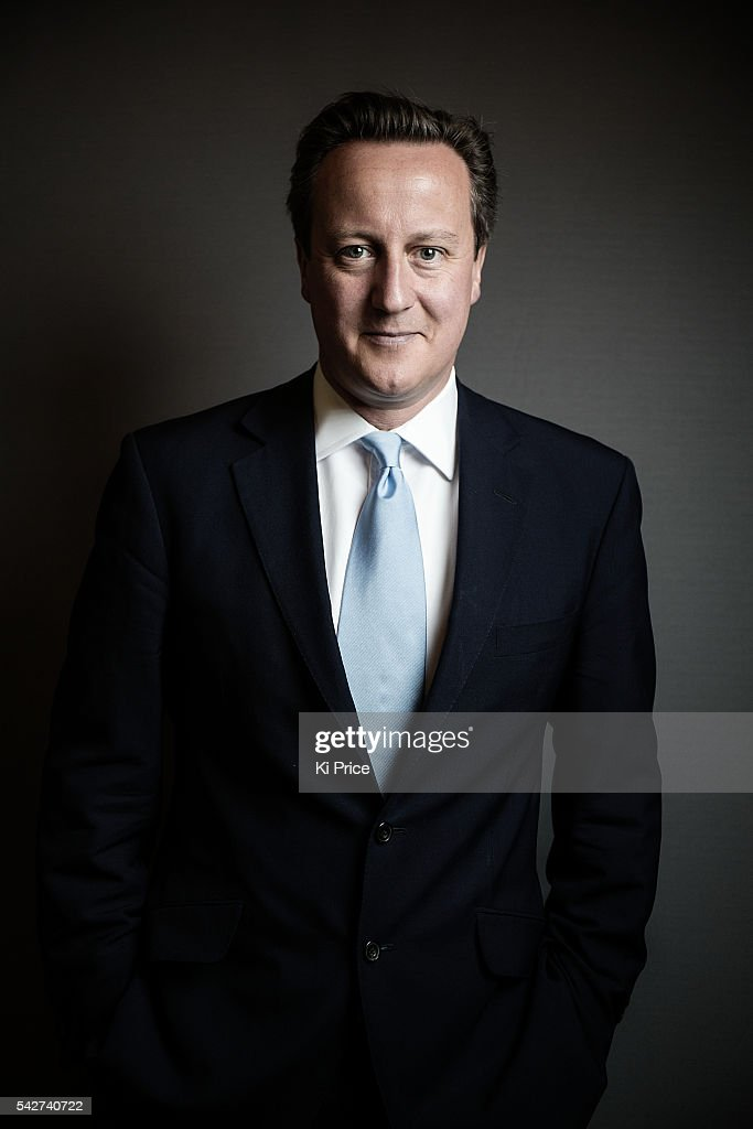 UK Conservative party politician and current Prime Minister David Cameron is photographed for the Times on June 19, 2014 in London, England.