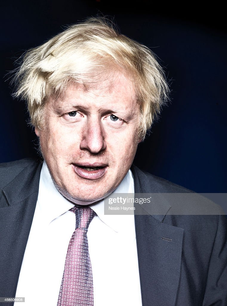 UK Conservative party politician Boris Johnson is photographed for the Australian Financial Review on September 19, 2014 in London, England.