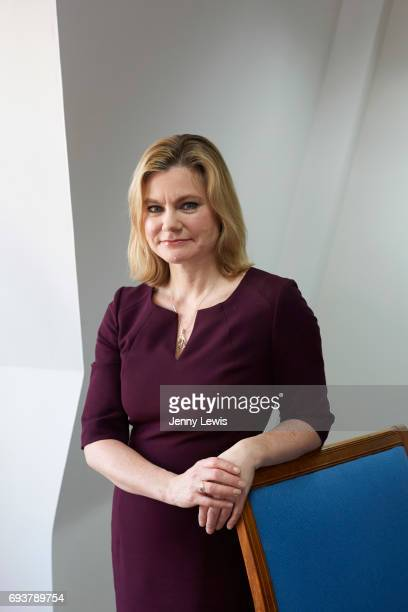 Conservative Party politician Justine Greening is photographed for Grazia on March 21 2017 in London England