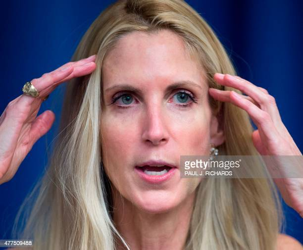 Conservative political commentator and author Ann Coulter discusses her latest book 'Adios America The Left's Plan to Turn Our Country into a Third...