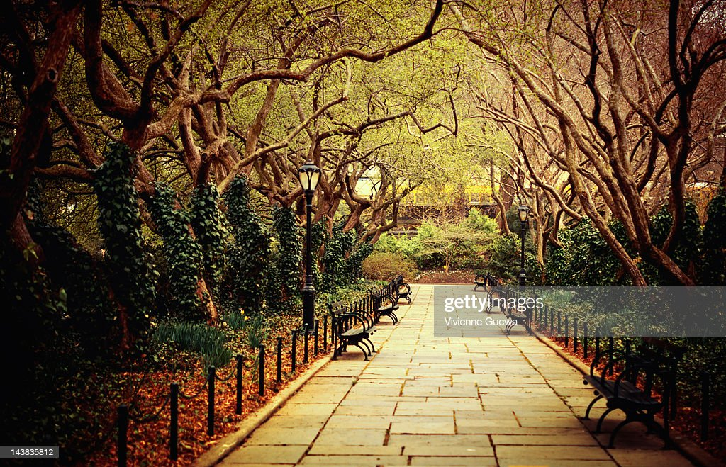 Conservatory Garden, Central Park, New York City