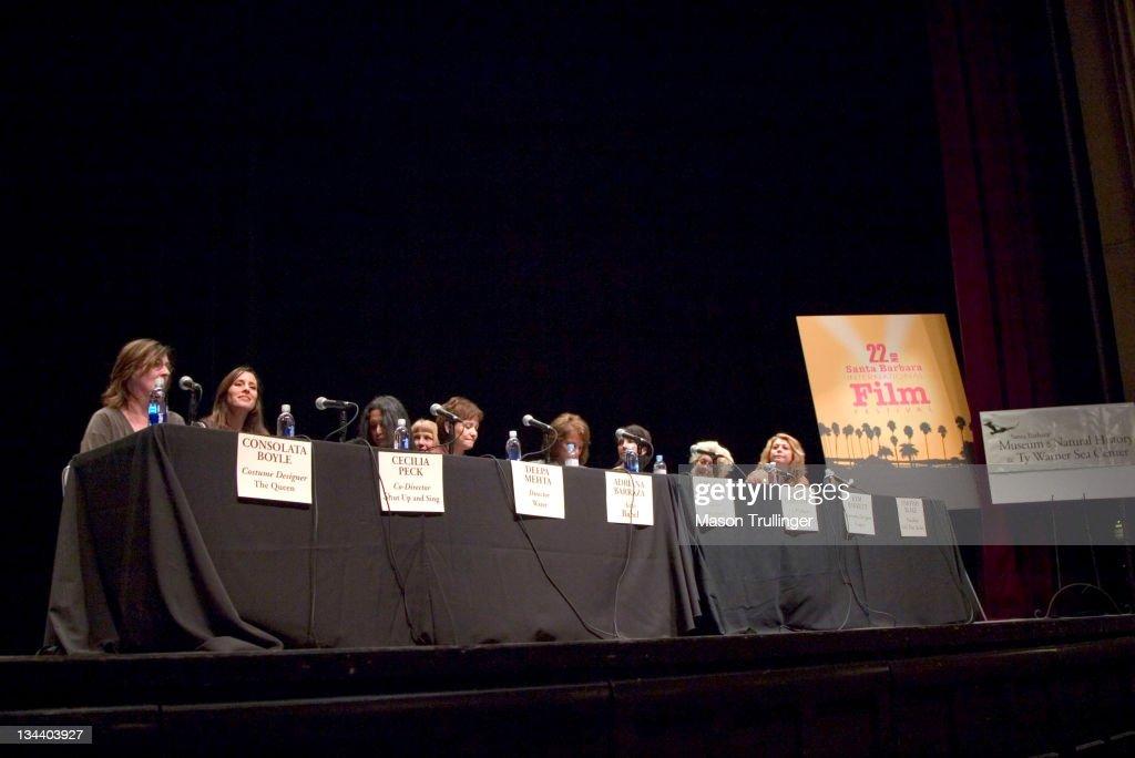 22nd Annual Santa Barbara International Film Festival - Women's Panel: Women in