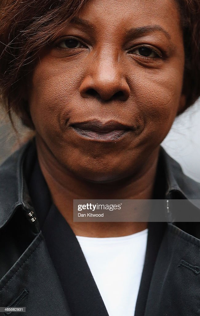 Constance Briscoe, a barrister and part-time judge, arrives at Southwark Crown Court on January 28, 2014 in London, England. Ms Briscoe is accused of providing two inaccurate statements to police and altering a police witness statement, which were used in the trial of Chris Huhne and Vicky Pryce.