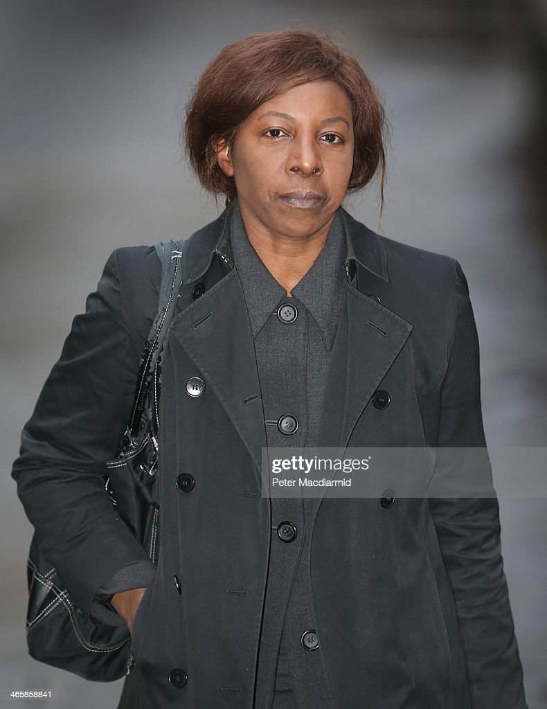 <a gi-track='captionPersonalityLinkClicked' href=/galleries/search?phrase=Constance+Briscoe&family=editorial&specificpeople=5621738 ng-click='$event.stopPropagation()'>Constance Briscoe</a> arrives at Southwark Crown Court on January 30, 2014 in London, England. Ms Briscoe, a barrister and part-time judge, is charged with providing two inaccurate statements to police, altering a police witness statement and of perverting the course of public justice in connection with the trial of former government minister Chris Huhne and his wife Vicky Pryce.