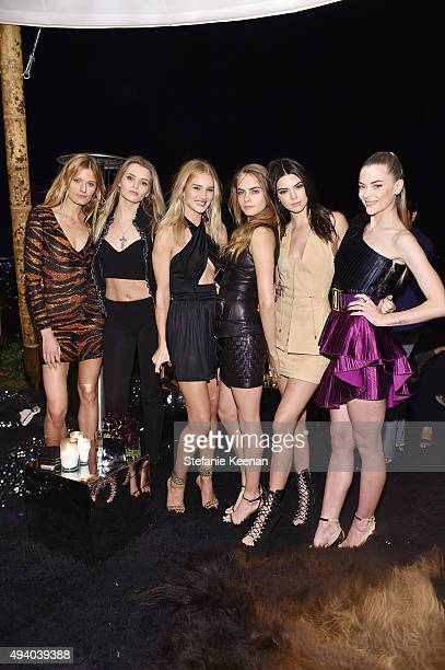 Constance Jablonski Abbey Lee Kershaw Rosie HuntingtonWhiteley Cara Delevingne and Kendall Jenner Jaime King attend Olivier Rousteing Beats Celebrate...