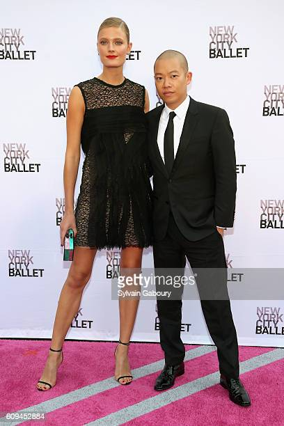 Constance Jablonski and Jason Wu attend New York City Ballet 2016 Fall Fashion Gala at David H Koch Theater Lincoln Center on September 20 2016 in...