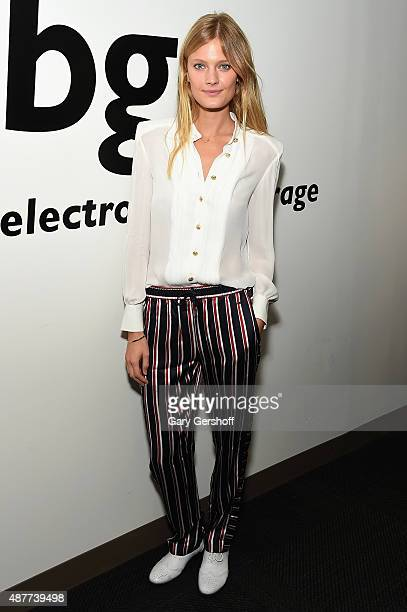 Constance Jablonski attends Annual Charity Day hosted by Cantor Fitzgerald and BGC at BGC Partners INC on September 11 2015 in New York City