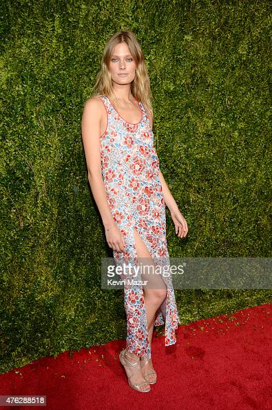 Constance Jablonski attends the 2015 Tony Awards at Radio City Music Hall on June 7 2015 in New York City