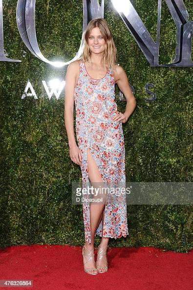 Constance Jablonski attends the American Theatre Wing's 69th Annual Tony Awards at Radio City Music Hall on June 7 2015 in New York City
