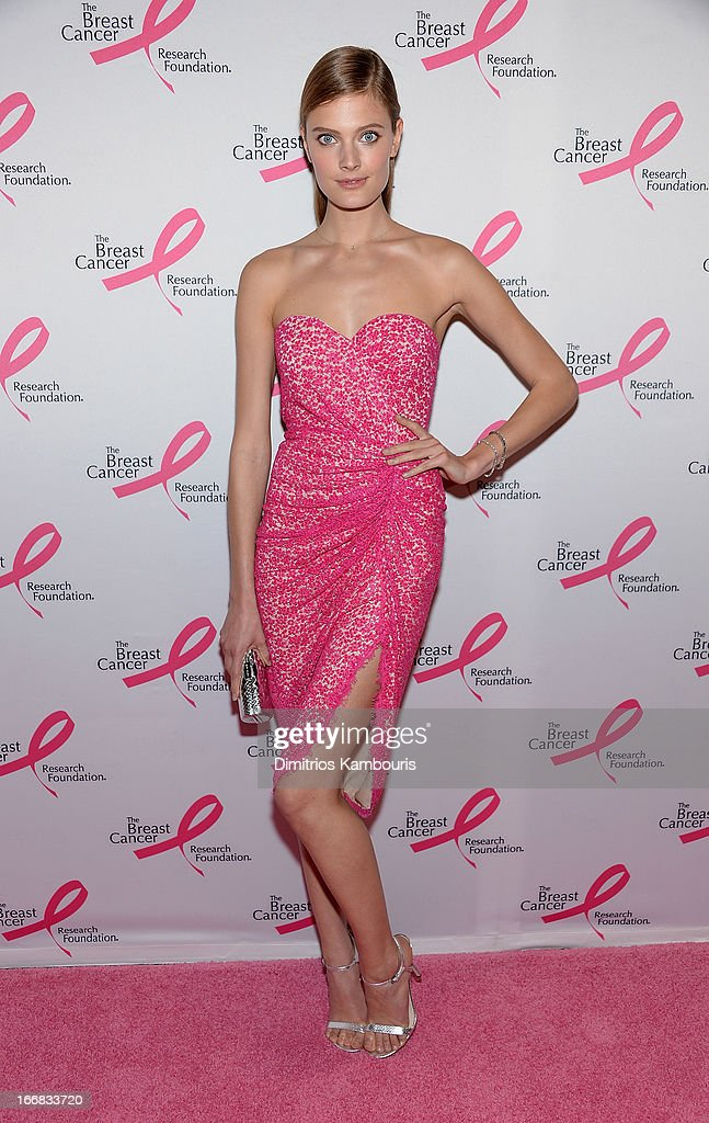 Constance Jablonski attends The Breast Cancer Research Foundation's 2013 Hot Pink Party at The Waldorf=Astoria on April 17, 2013 in New York City.