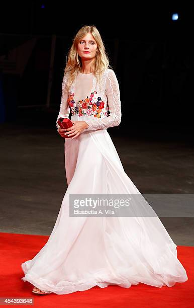 Constance Jablonski attends 'The Humbling' premiere during the 71st Venice Film Festival on August 30 2014 in Venice Italy