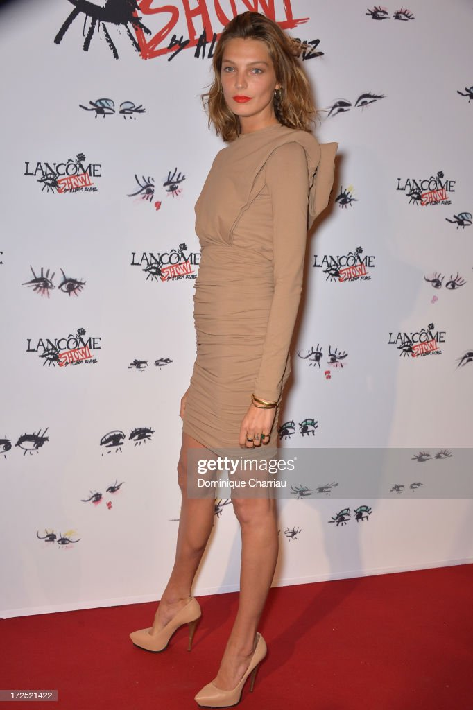 Constance Jablonski attends the 'Lancome Show By Alber Elbaz' Party at Le Trianon on July 2, 2013 in Paris, France.