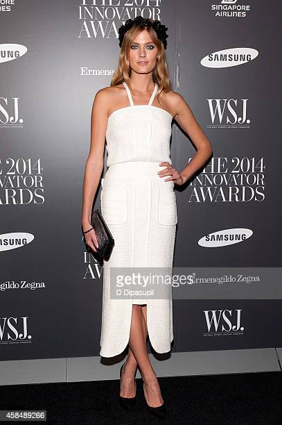 Constance Jablonski attends WSJ Magazine's 'Innovator Of The Year' Awards at the Museum of Modern Art on November 5 2014 in New York City