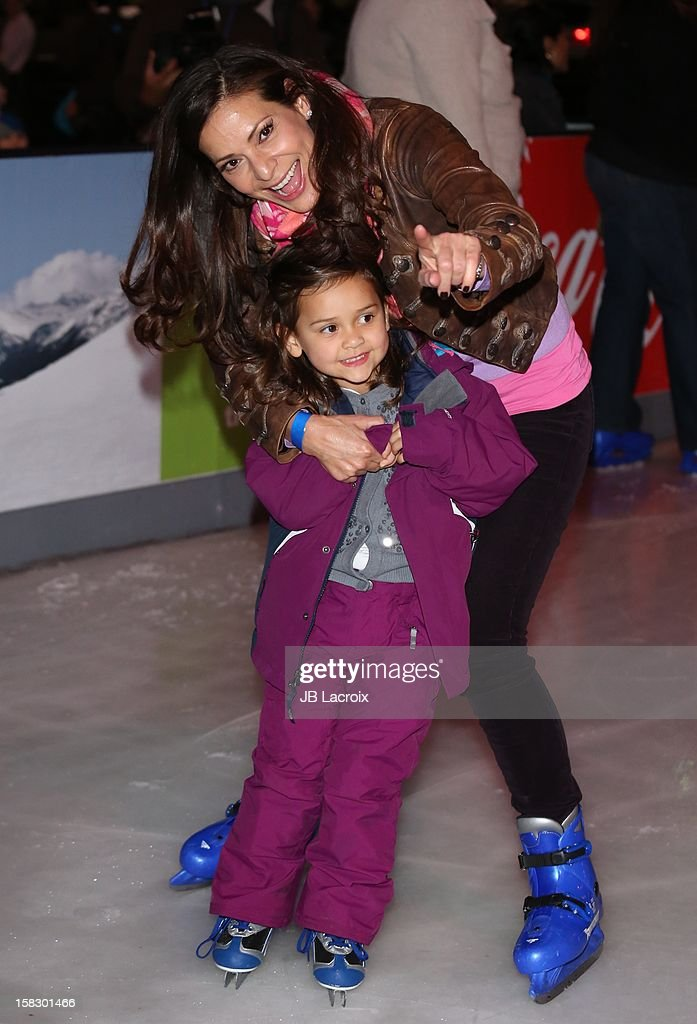 <a gi-track='captionPersonalityLinkClicked' href=/galleries/search?phrase=Constance+Marie&family=editorial&specificpeople=204646 ng-click='$event.stopPropagation()'>Constance Marie</a> and Luna Marie Katich attend the Disney On Ice 'Dare To Dream' Red Carpet Opening Night at LA Kings Holiday Ice at L.A. LIVE on December 12, 2012 in Los Angeles, California.