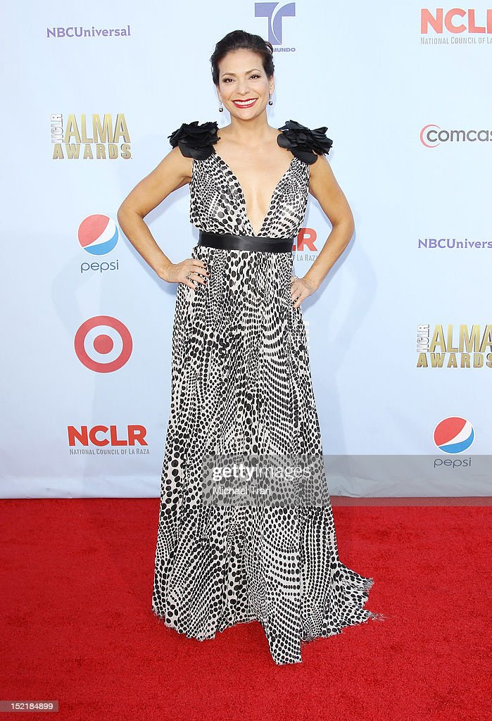 Constance Marie arrives at the NCLR 2012 ALMA Awards held at Pasadena Civic Auditorium on September 16, 2012 in Pasadena, California.