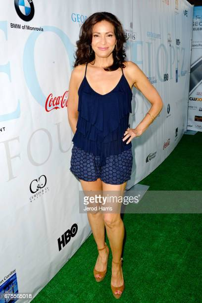Constance Marie attends the 10th Annual George Lopez Celebrity Golf Classic at Lakeside Country Club on May 1 2017 in Toluca Lake California