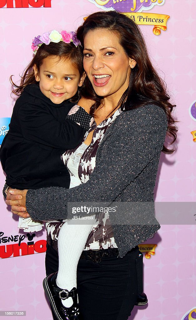 <a gi-track='captionPersonalityLinkClicked' href=/galleries/search?phrase=Constance+Marie&family=editorial&specificpeople=204646 ng-click='$event.stopPropagation()'>Constance Marie</a> attends the premiere of Disney Channels' 'Sofia The First: Once Upon a Princess' at Walt Disney Studios on November 10, 2012 in Burbank, California.