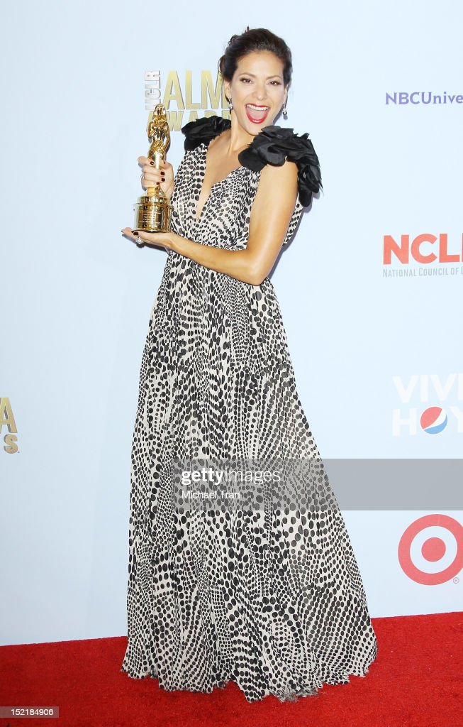 Constance Marie attends the press room at the NCLR 2012 ALMA Awards held at Pasadena Civic Auditorium on September 16, 2012 in Pasadena, California.