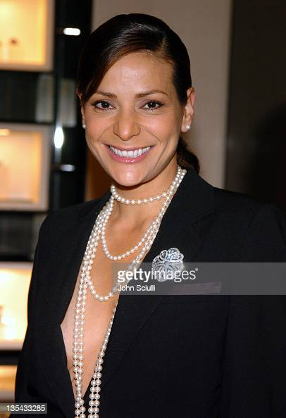 Constance Marie during Chanel's Special Premiere Screening of 'No5 The Film' at Chanel Boutique in Beverly Hills California United States