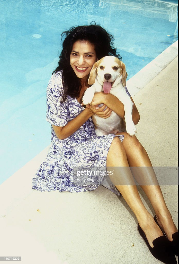 constance marie photo shoot july 13 1991 getty images