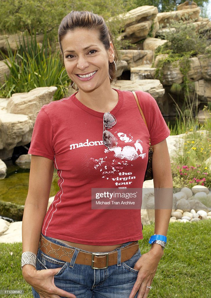 Constance Marie during Fulfillment Fund's 2005 Annual Summer Splash at Alfred Mann's Estate in Los Angeles California United States