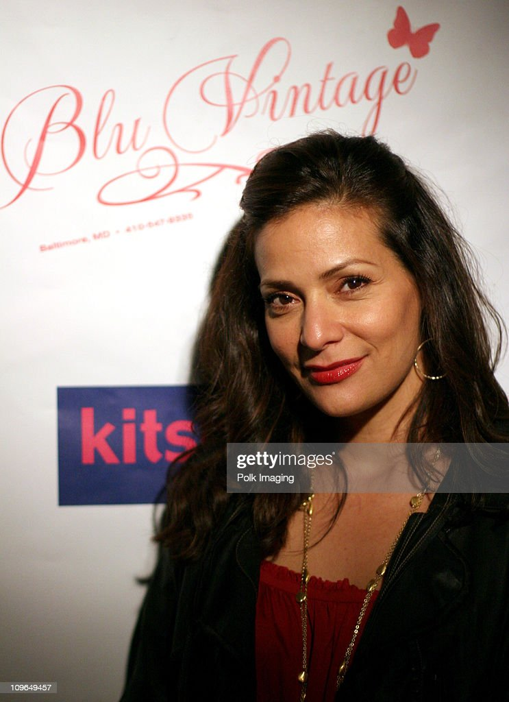 Constance Marie during Grand Opening of Blu Vintage Boutique at 1621 1/2 Montana Ave in Santa Monica California United States