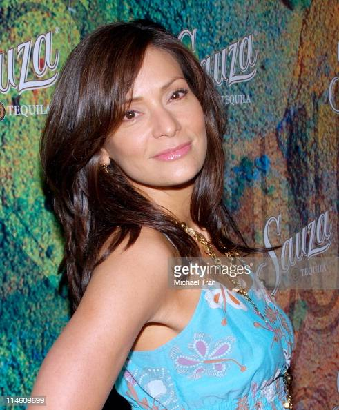 Constance Marie during Sauza Tequila's 2006 Cinco de Mayo Party Hosted by Jeremy Piven Arrivals at Velvet Margarita in Hollywood Califonia United...
