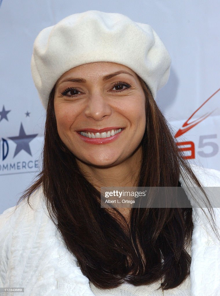 Constance Marie during The 75th Annual Hollywood Christmas Parade Arrivals at The Hollywood Roosevelt Hotel in Hollywood CA United States