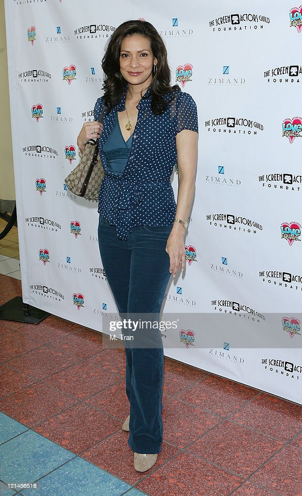 Constance Marie during The Screen Actors Guild Foundation and Zimand Entertianment Host Los Angeles Children's Love Equals Writing Contest at Beverly Center in Los Angeles, California, United States.