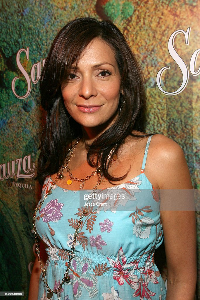 Constance Marie 'The George Lopez Show' during Sauza Tequila Party Hosted by Jeremy Piven Featuring the 'Hug It Out' Margarita Red Carpet and Inside...