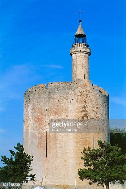 Constance tower ca 1250 AiguesMortes LanguedocRoussillon France 13th century