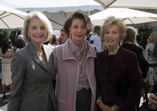 L R: Constance Towers Gavin (cq), Lynn Booth and Joan