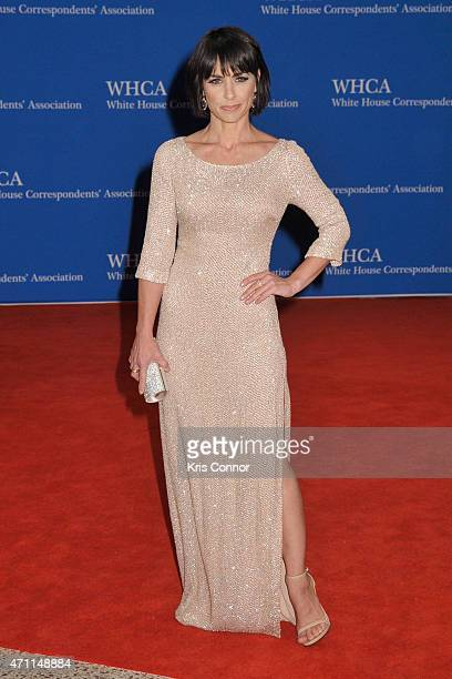 Constance Zimmer attends the 101st Annual White House Correspondents' Association Dinner at the Washington Hilton on April 25 2015 in Washington DC