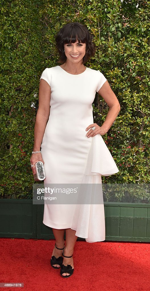Constance Zimmer attends the 2015 Creative Arts Emmy Awards at Microsoft Theater on September 12, 2015 in Los Angeles, California.