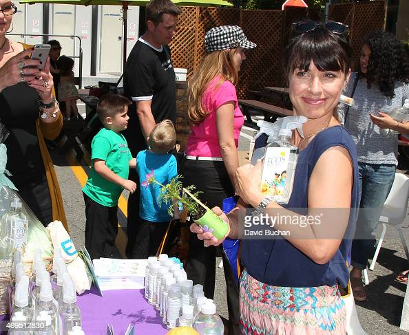 Constance Zimmer attends The Environmental Media Association firstever Sustainable Earth Month Celebration in honor of Disneynature's 'Monkey...