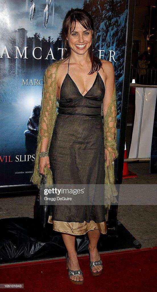 Constance Zimmer during 'Dreamcatcher' Premiere at Mann Village Theatre in Westwood, California, United States.