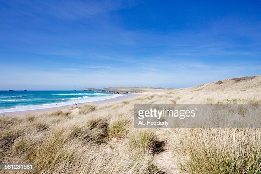 Constantine Bay Beach and dunes, Cornwall