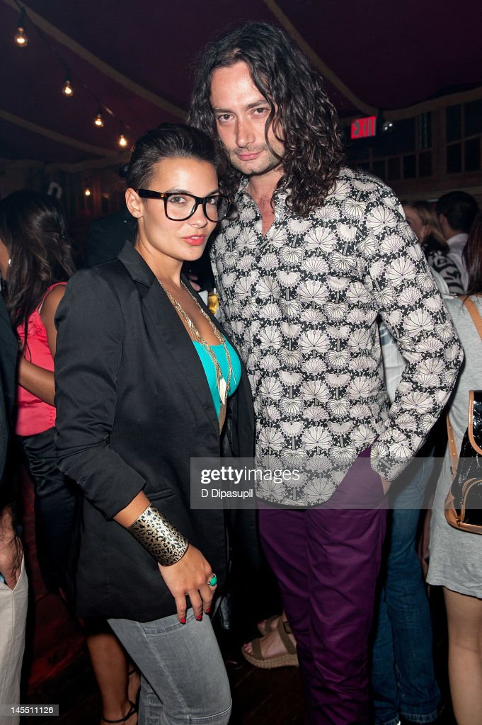 <a gi-track='captionPersonalityLinkClicked' href=/galleries/search?phrase=Constantine+Maroulis&family=editorial&specificpeople=208875 ng-click='$event.stopPropagation()'>Constantine Maroulis</a> (R) and Krista Ayne attend the 'Empire' Opening Night Curtain Call And After Party at 265 West 45th Street on May 31, 2012 in New York City.