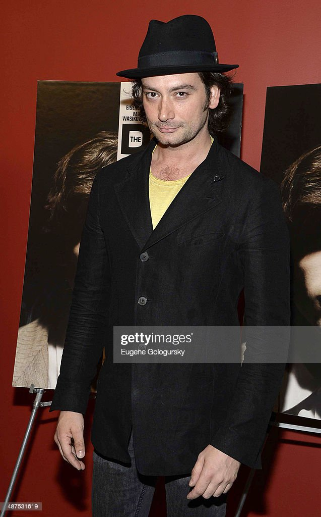 <a gi-track='captionPersonalityLinkClicked' href=/galleries/search?phrase=Constantine+Maroulis&family=editorial&specificpeople=208875 ng-click='$event.stopPropagation()'>Constantine Maroulis</a> attends 'The Double' screening at Landmark's Sunshine Cinema on April 30, 2014 in New York City.
