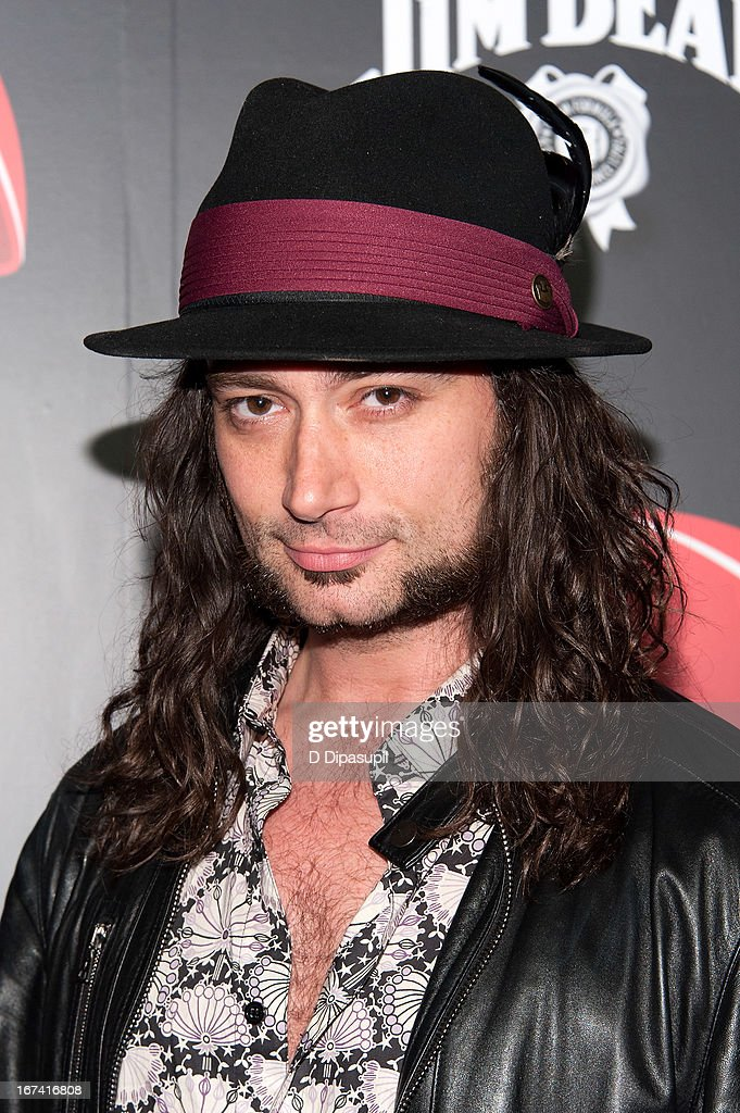 Constantine Maroulis attends the ESPN The Magazine 10th annual Pre-Draft Party at The IAC Building on April 24, 2013 in New York City.