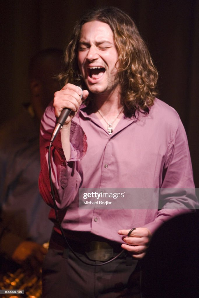 Constantine Maroulis during An Evening at Vibrato - May 26, 2006 at Vibrato Grill in Los Angeles, California, United States.