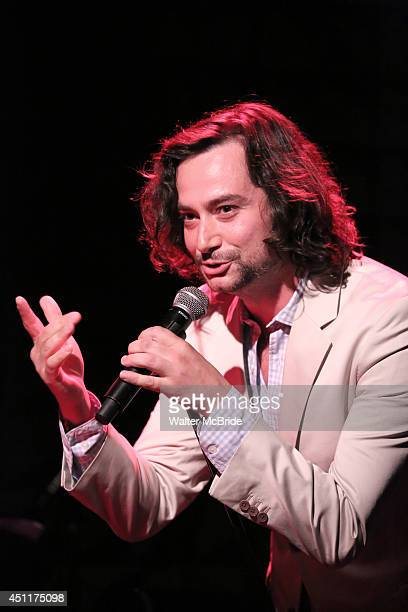 Constantine Maroulis performing in 'The Lord The Master Broadwayworldcom sings Andrew Lloyd Webber Stephen Sondheim' at Joe's Pub on June 16 2014 in...