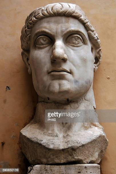 Constantine the Great Roman Emperor from 306337 Know for being the first roman emperor to convert to christianity Head of Constantine's colossal...