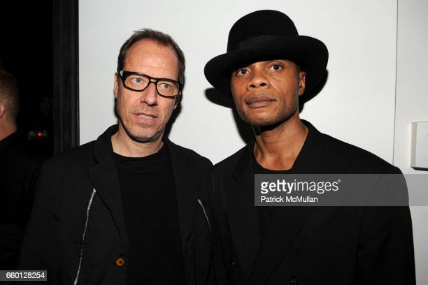 Constantine von Haeften and Karlo Steel attend ROGER PADILHA MAURICIO PADILHA Celebrate Their Rizzoli Publication THE STEPHEN SPROUSE BOOK Hosted by...