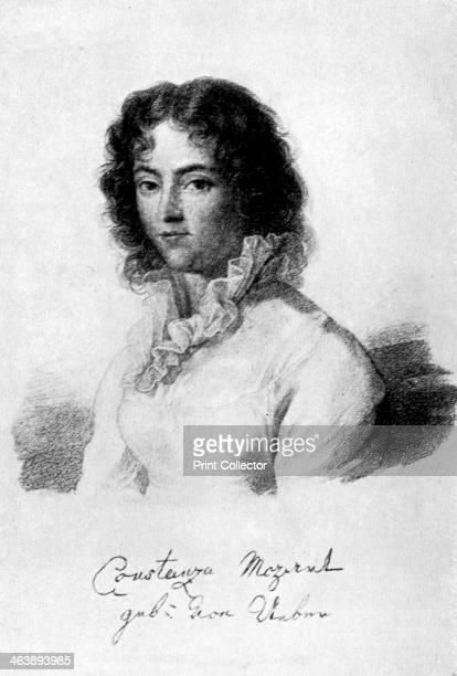 Constanze Mozart 1783 Born Constanze Weber she married Wolfgang Amadeaus Mozart in 1783