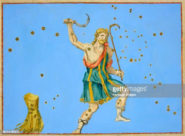 Constellation of Bootes 1603 From Uranometria by Johann Bayer 1603 Artist Alexander Mair