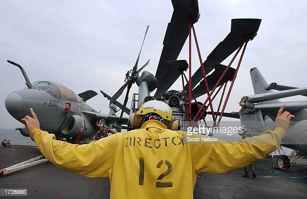 USS Constellation Patrols Persian Gulf