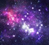 Representation of the constellation Pegasus (Peg), one of the modern constellations, part of 'Constellations' series