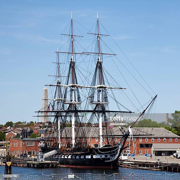 USS Constitution at Her Berth